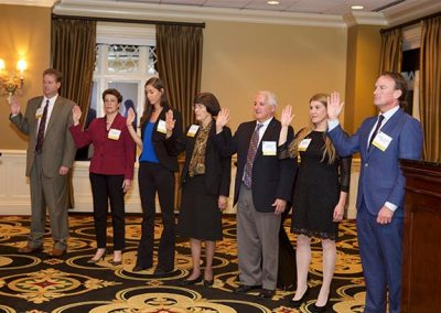 New Board Sworn In