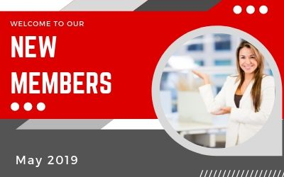 Welcome New Members for May 2019